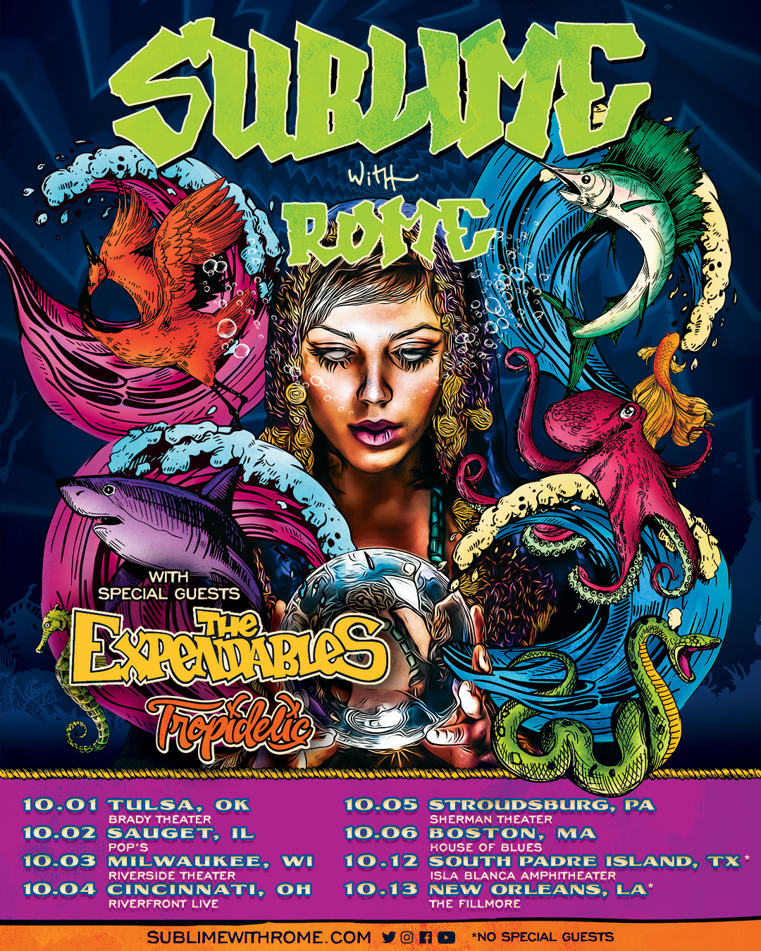 Sublime With Rome Tour 2020 Sublime With Rome